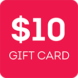 Gift Card 10 $10.00