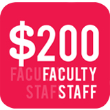 Faculty Staff $200